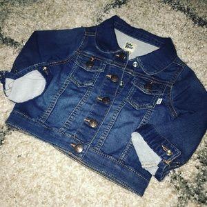 New Osh Kosh Denim Jean Jacket 2t